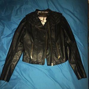 NWOT leather jacket 💀